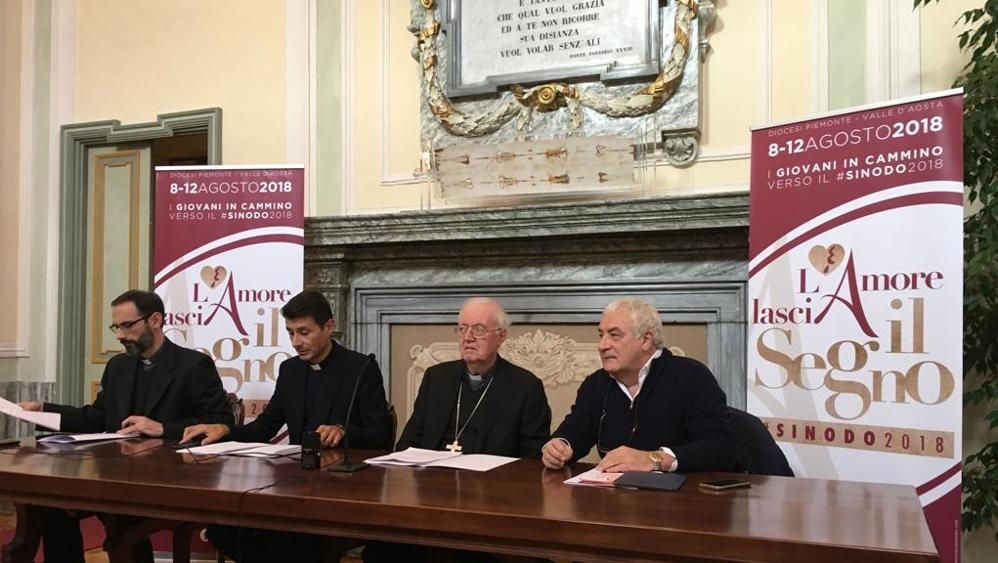 Ostensione Giovani 2018 Press Conference