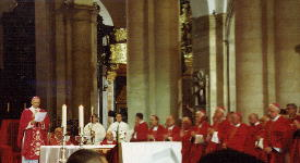 The Holy Mass in the Cathedral