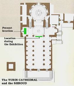 Plan of the Turin Cathedral