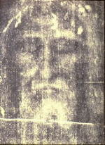 Shroud face in ultraviolet negative